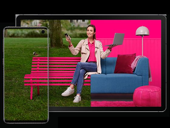 T-Mobile is aanbieder van mobiele telecom.